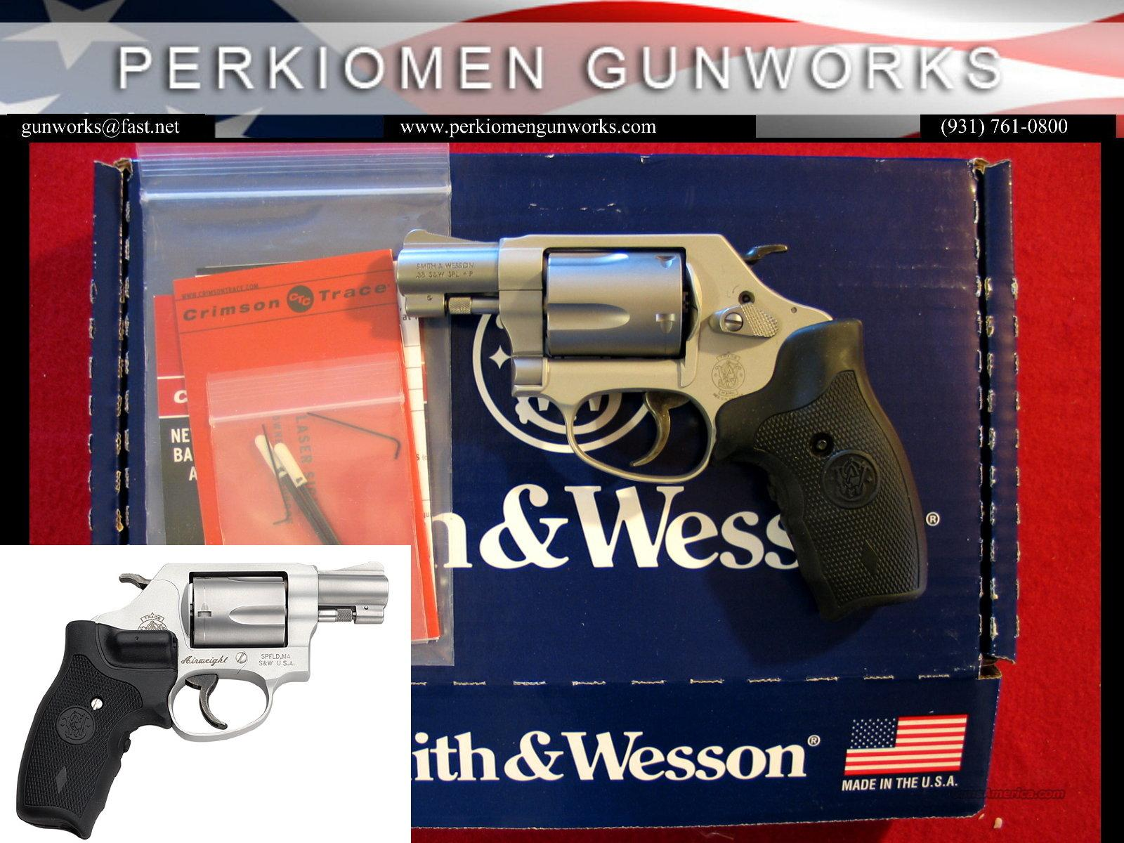 637 CT Airweight 38SP+P Chiefs Special, Laser Grips - NIB  Guns > Pistols > Smith & Wesson Revolvers > Pocket Pistols