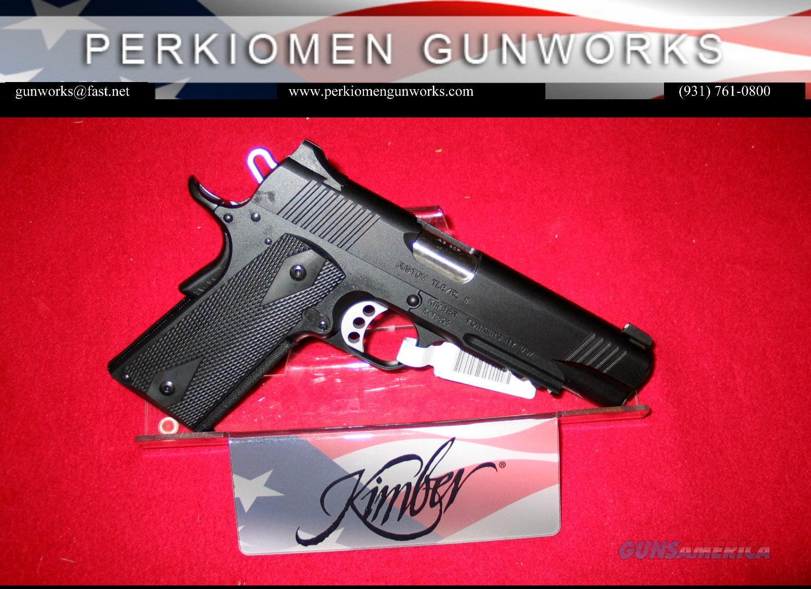 "Custom TLE-RL, 45acp, 5"" w/rail. New in Box.  Guns > Pistols > Kimber of America Pistols"