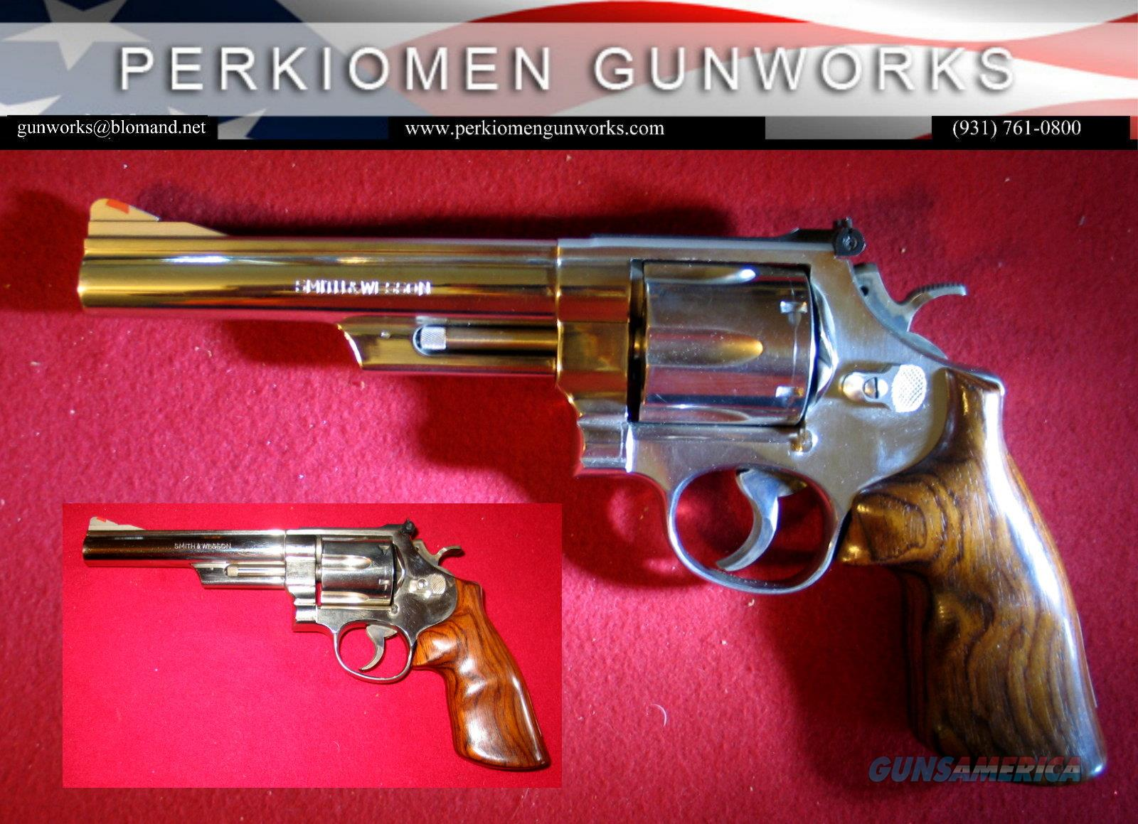 "57-1 Nickel , ""The .41 Magnum Target"", 6 inch bbl.  Guns > Pistols > Smith & Wesson Revolvers > Full Frame Revolver"