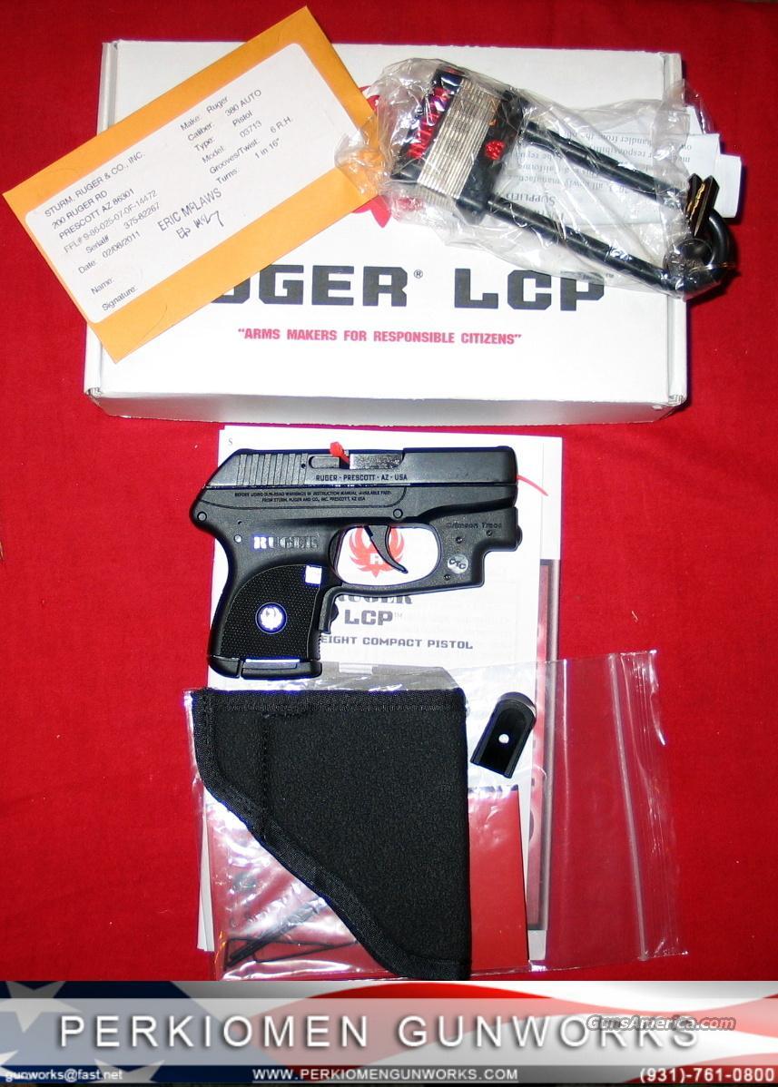 LCP .380 w/Laser - NIB  Guns > Pistols > Ruger Semi-Auto Pistols > LCP