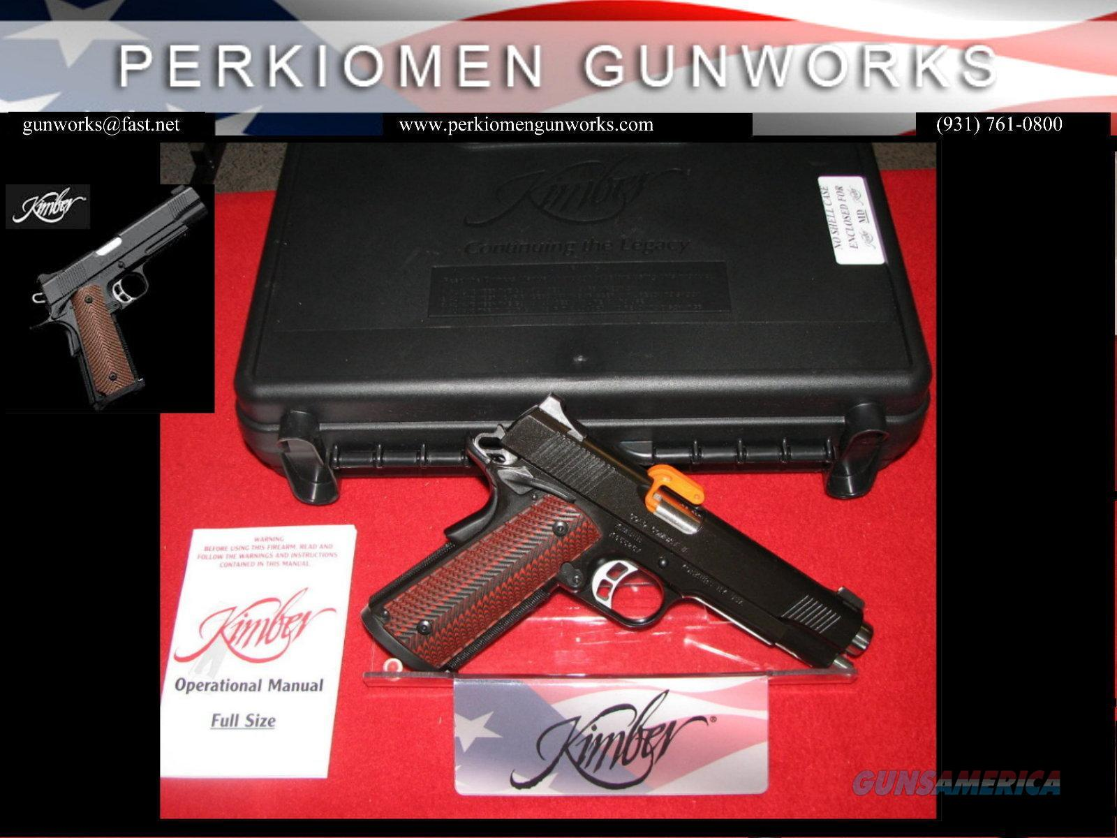 "Gold Combat, 45acp, 5"", Custom Shop, New in Box  Guns > Pistols > Kimber of America Pistols"