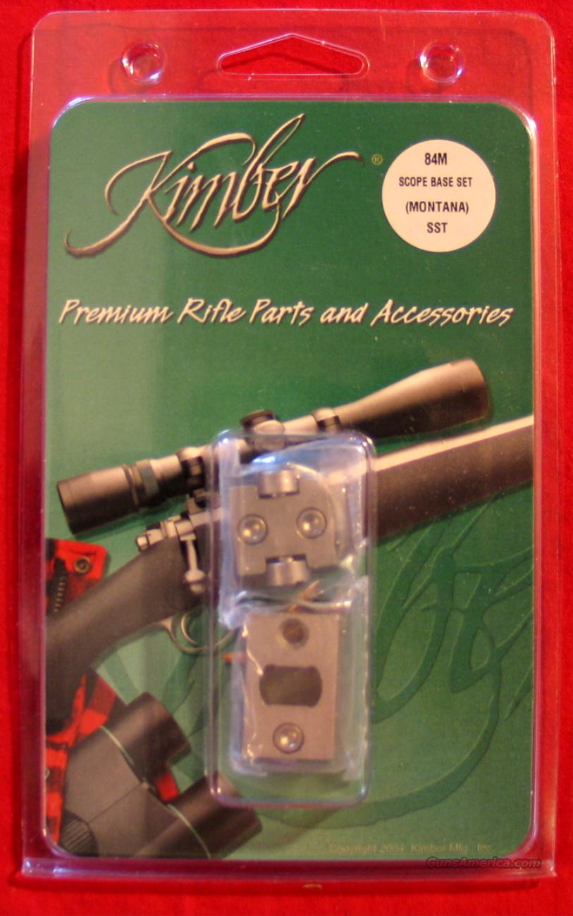 Kimber 84M or 84L Stainless Steel Scope Bases  Non-Guns > Scopes/Mounts/Rings & Optics > Mounts > Other