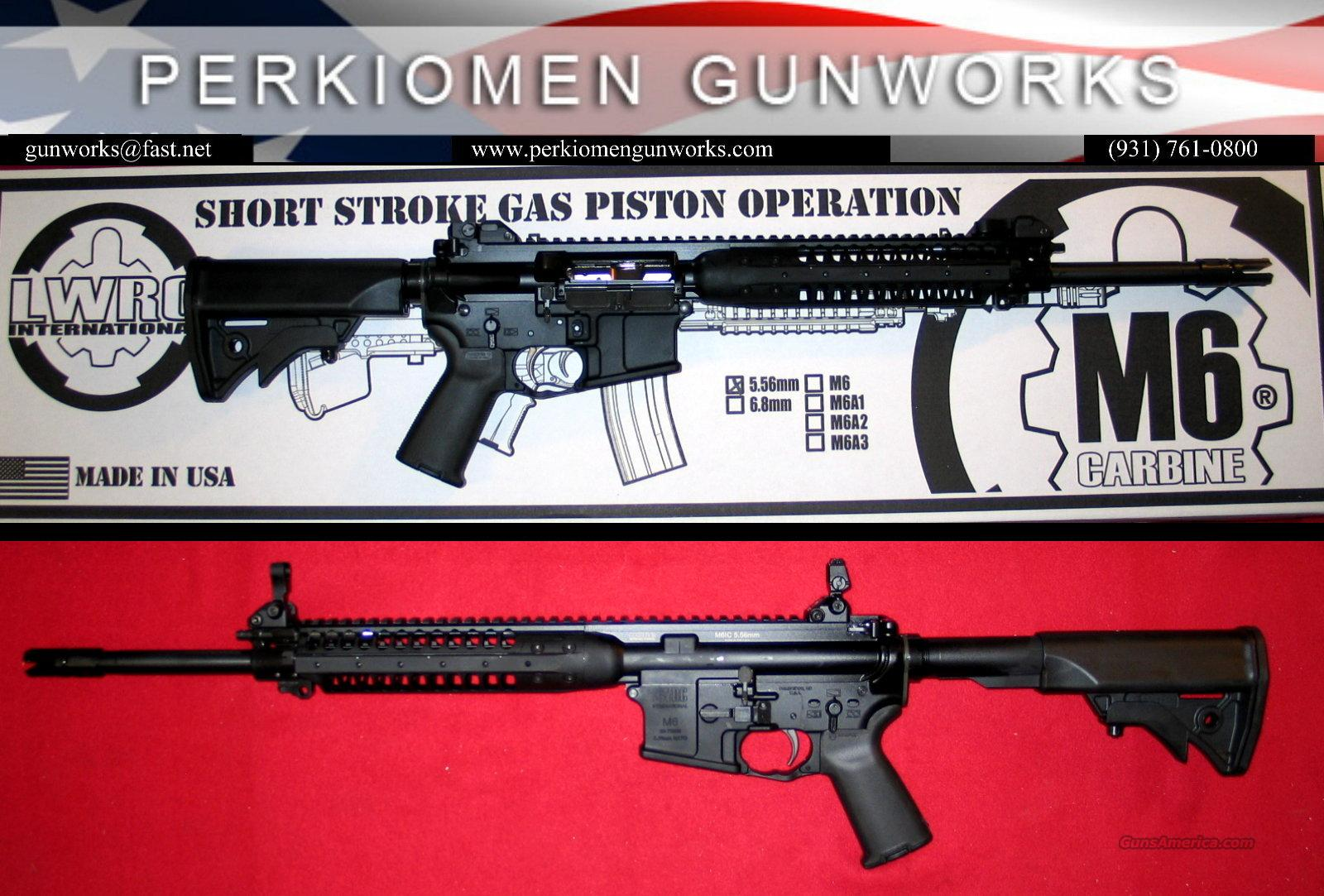 "LWRC M6A2 IC, 5.56, 16.1"" Black-New in box.  Guns > Rifles > AR-15 Rifles - Small Manufacturers > Complete Rifle"