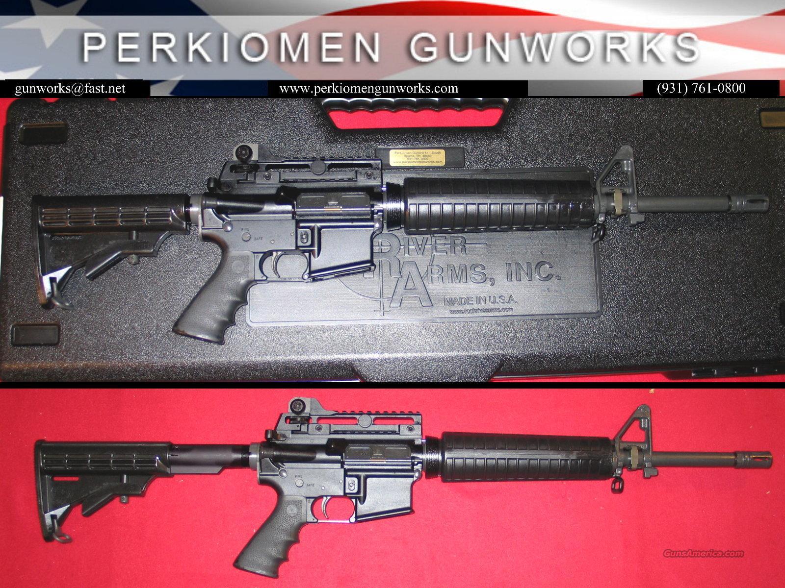Elite CAR A4 5.56 w/Tacticial Handle included - NIB  Guns > Rifles > Rock River Arms Rifles