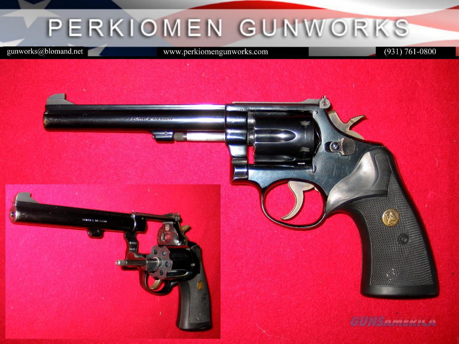 "17-3 .22LR, 6 inch ""The K-22 Masterpiece""  Guns > Pistols > Smith & Wesson Revolvers > Med. Frame ( K/L )"