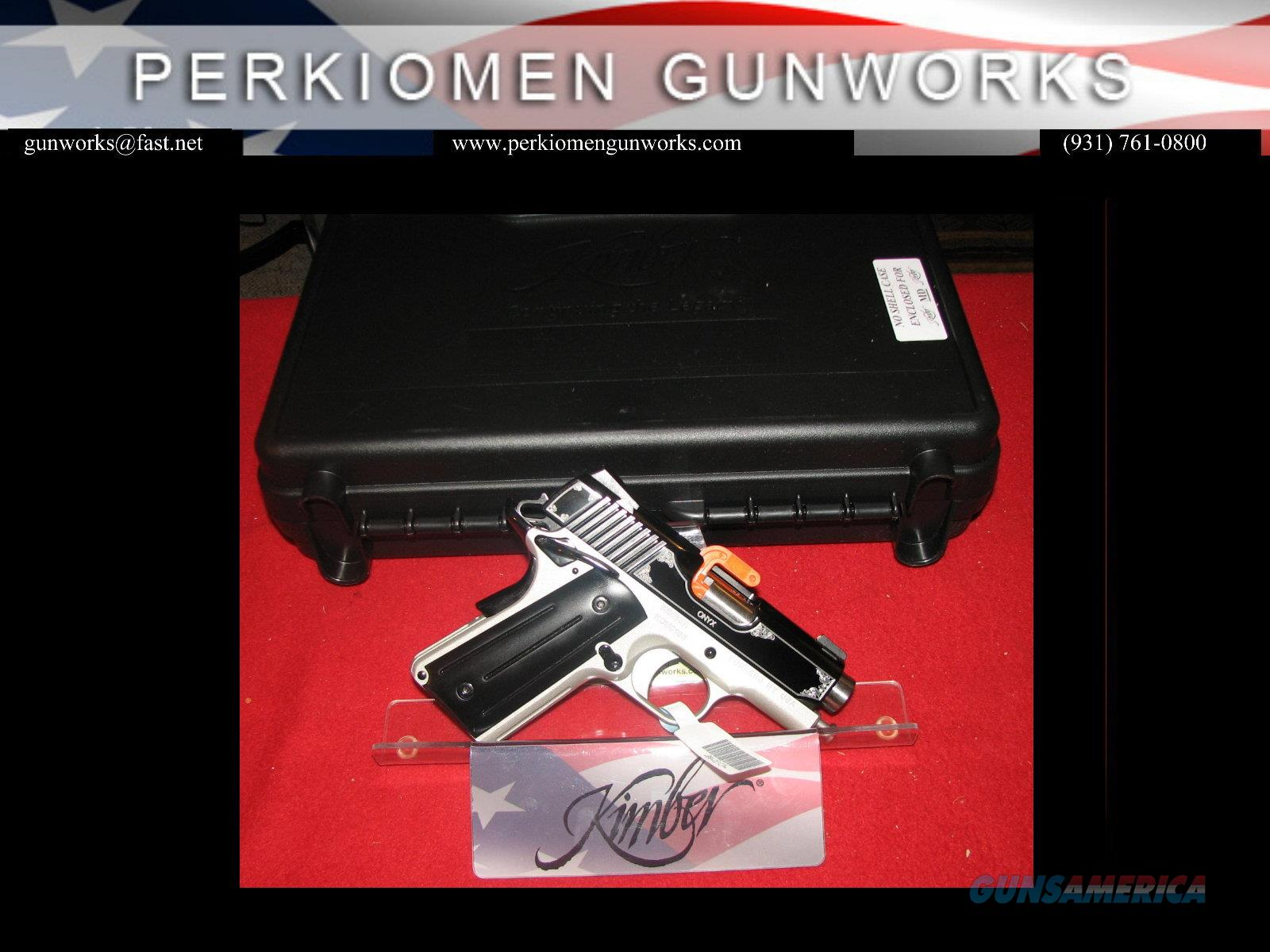 "ONYX Ultra, 45acp, 3"", Special Edition, New in Box  Guns > Pistols > Kimber of America Pistols"
