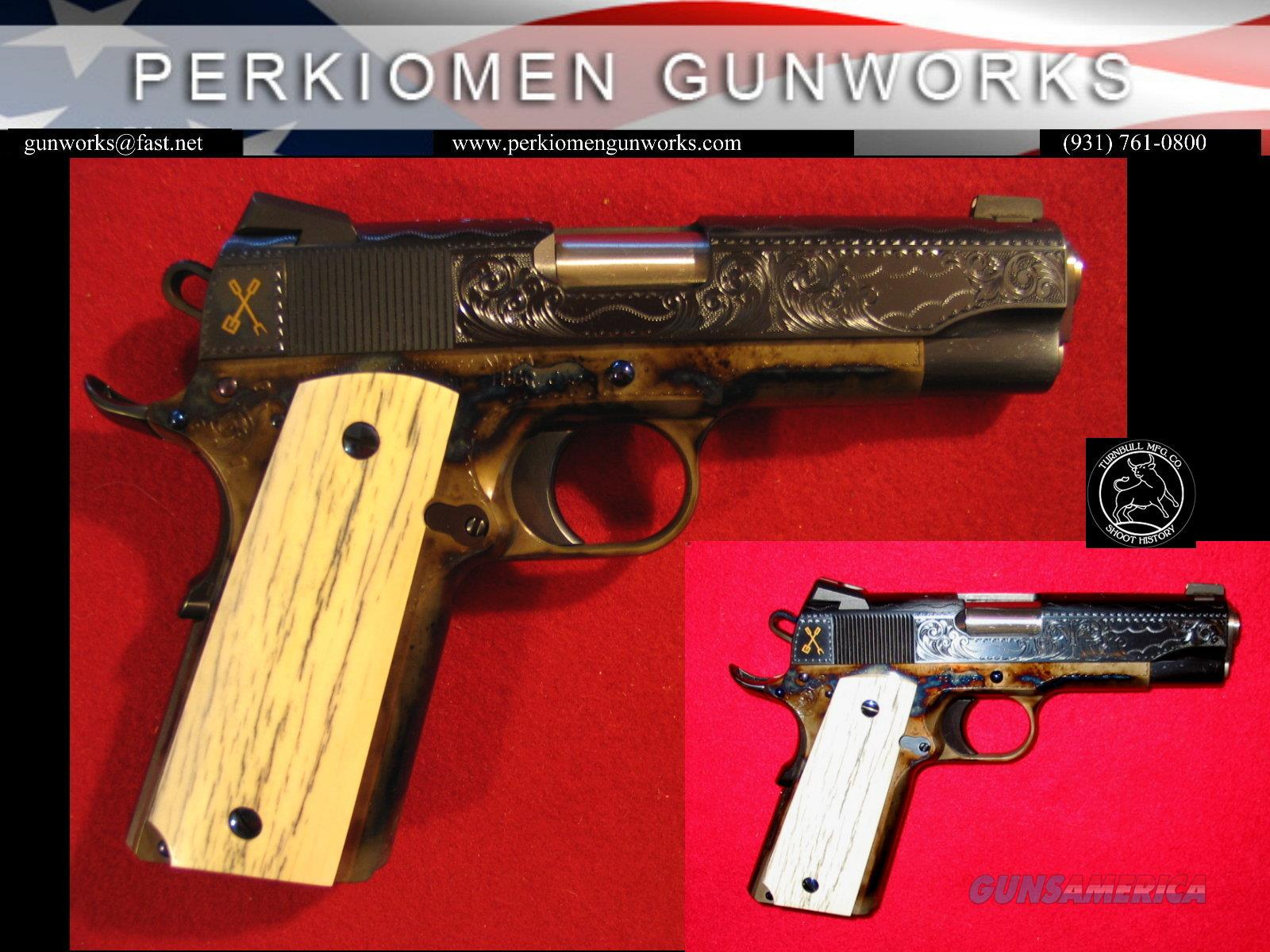 TURNBULL BBQ COMMANDER HERITAGE MODEL 1911, 45acp, New  Guns > Pistols > Custom Pistols > 1911 Family