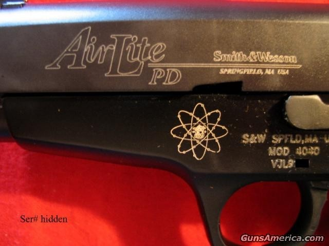 4040PD AirLite 40S&W-nib  Guns > Pistols > Smith & Wesson Pistols - Autos