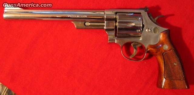 "57 Nickel 8 3/8"" like new  Guns > Pistols > Smith & Wesson Revolvers"