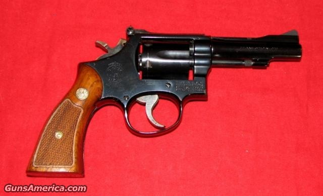 "15-3 4"" BL 1969 gun  Guns > Pistols > Smith & Wesson Revolvers"