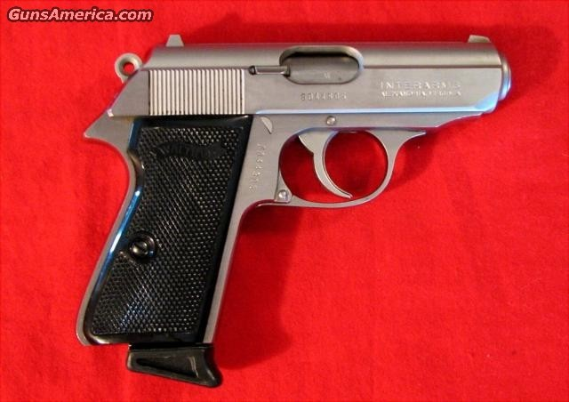 PPK/S .380 Interarms  Guns > Pistols > Walther Pistols > Post WWII > PP Series