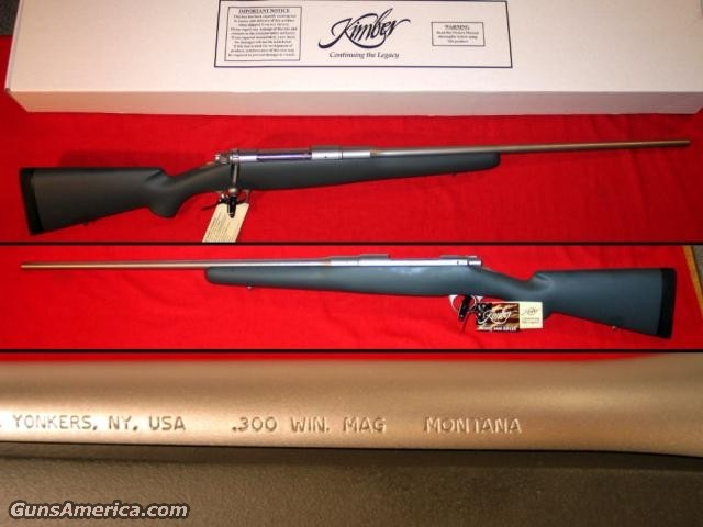 8400 LA Montana .300 WinMag  Guns > Rifles > Kimber of America Rifles