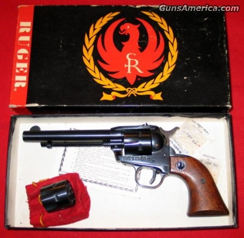 Single-Six 3-screw w/box  Guns > Pistols > Ruger Single Action Revolvers > Single Six Type