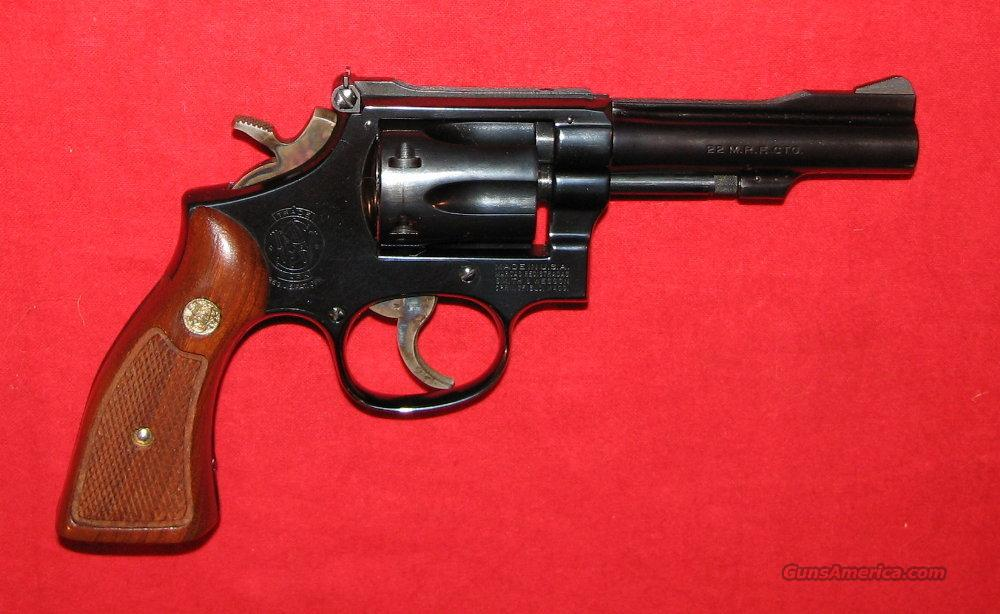 "48-4 4"" Blue  Guns > Pistols > Smith & Wesson Revolvers"
