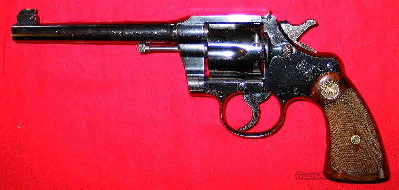 Officers Model Match  Guns > Pistols > Colt Single Action Revolvers - 3rd Gen.