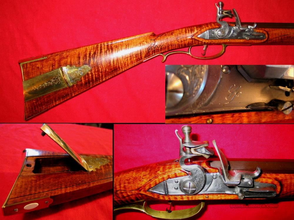 Custom PA Flintlock .45cal  Guns > Rifles > Muzzleloading Replica Rifles (flint)