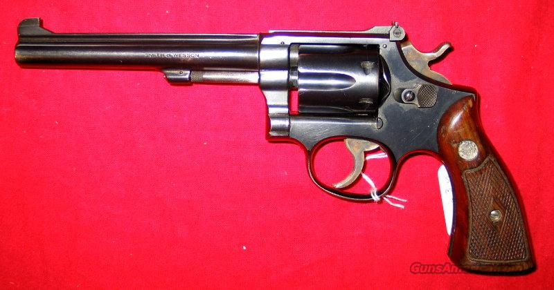 "K-22 Masterpiece 5-screw 6""   Guns > Pistols > Smith & Wesson Revolvers > Full Frame Revolver"