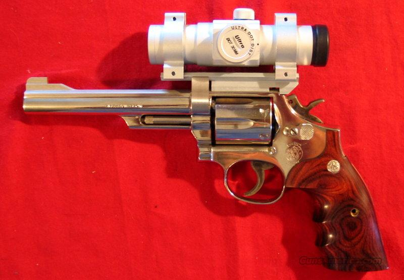 "19-5 6"" NK w/Dot sight  Guns > Pistols > Smith & Wesson Revolvers > Full Frame Revolver"