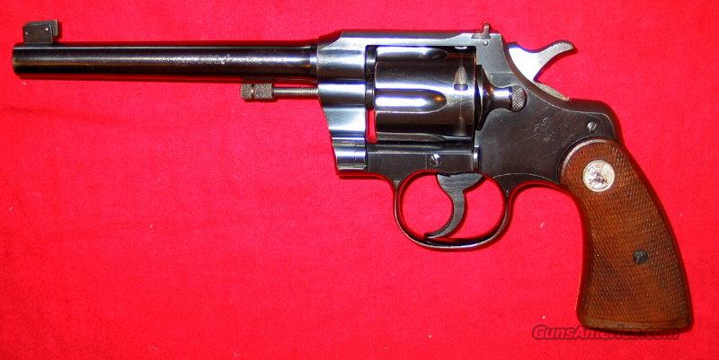 Officer's Match .22LR 1935 gun  Guns > Pistols > Colt Double Action Revolvers- Pre-1945