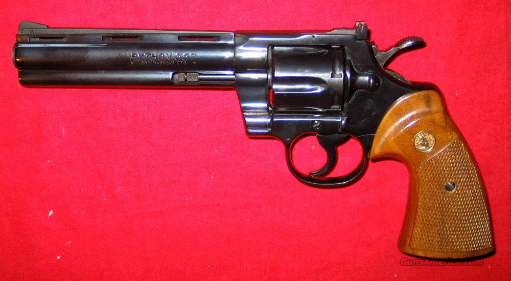 "Python .357, 6"" like new  Guns > Pistols > Colt Double Action Revolvers- Modern"