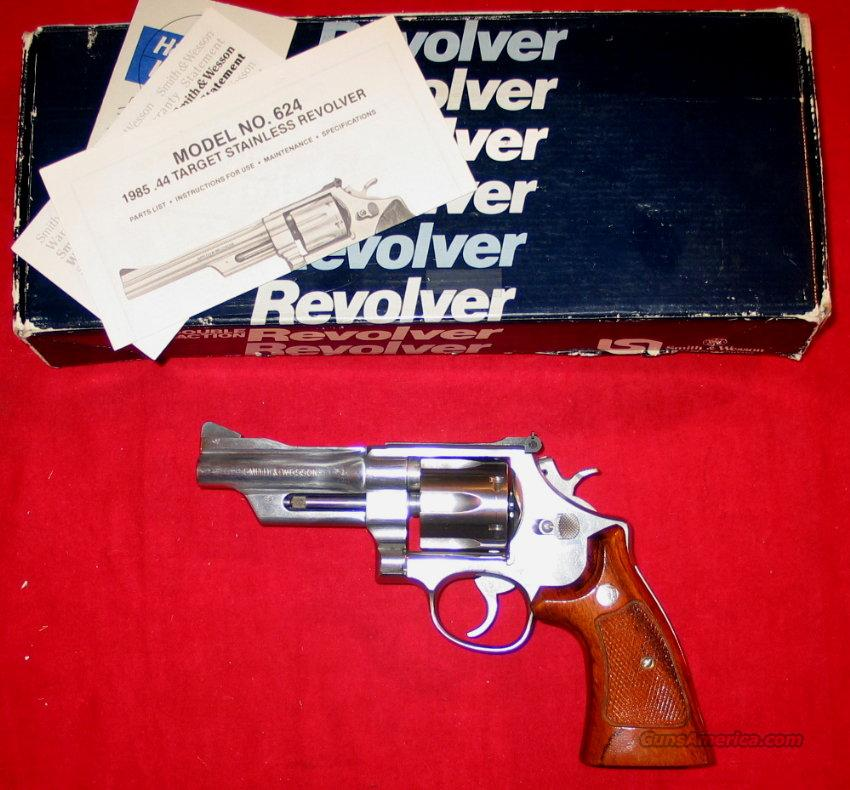 "624 4"" SS .44 Spec. 1986 gun  Guns > Pistols > Smith & Wesson Revolvers > Full Frame Revolver"