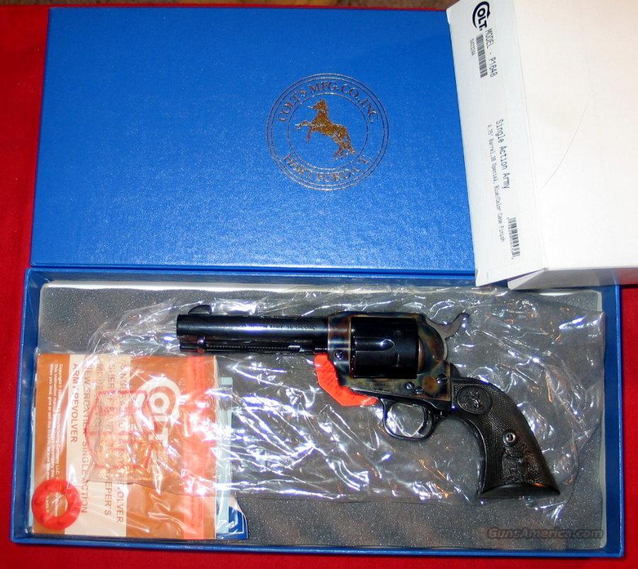 """SAA .38 Special, 4 3/4"""", NIB  Guns > Pistols > Colt Single Action Revolvers - 3rd Gen."""