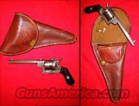 Lefaucheux Engraved Pinfire  Guns > Pistols > Antique (Pre-1899) Pistols - Ctg. Misc.
