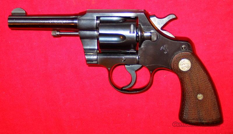 "Offical Police .38 4"" 1944 gun  Guns > Pistols > Colt Double Action Revolvers- Pre-1945"