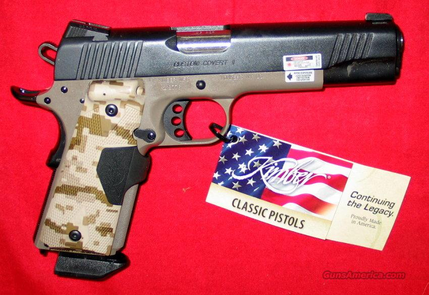 Custom Covert II - NIB  Guns > Pistols > Kimber of America Pistols
