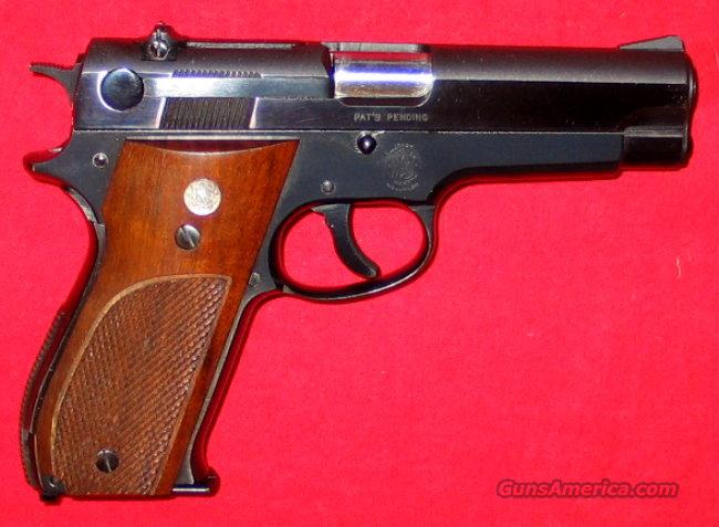 39 All Steel, 9MM, AsNIB  Guns > Pistols > Smith & Wesson Pistols - Autos > Steel Frame