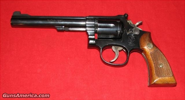 "15-6 / 6"" Combat Masterpiece  Guns > Pistols > Smith & Wesson Revolvers > Full Frame Revolver"