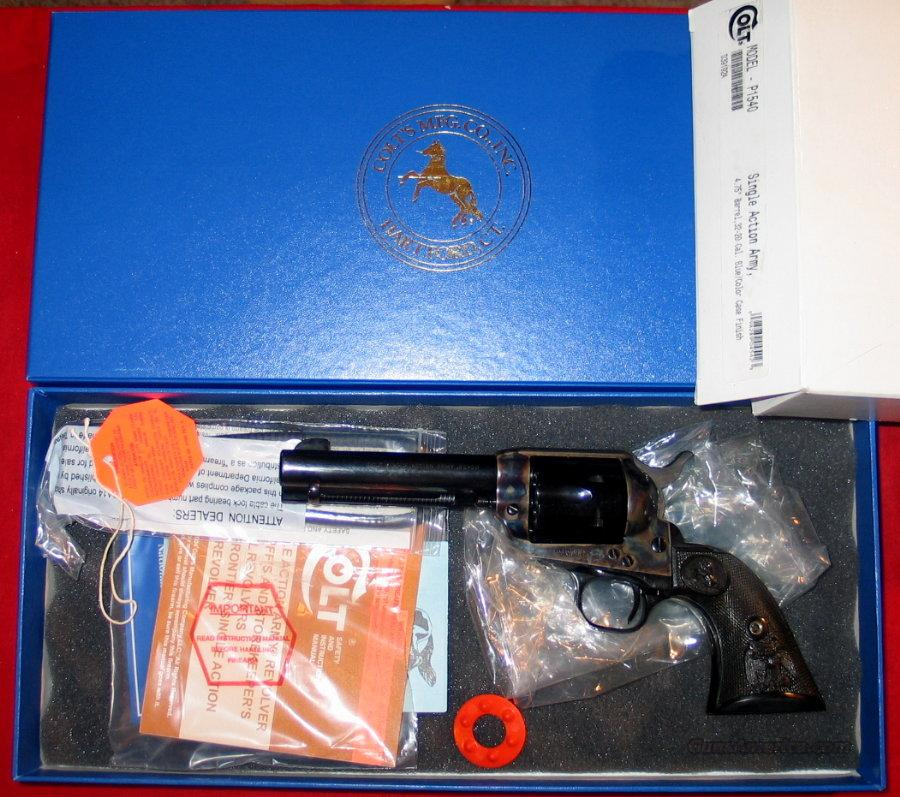 "SAA .32-20, 4 3/4"" - NIB  Guns > Pistols > Colt Single Action Revolvers - 3rd Gen."