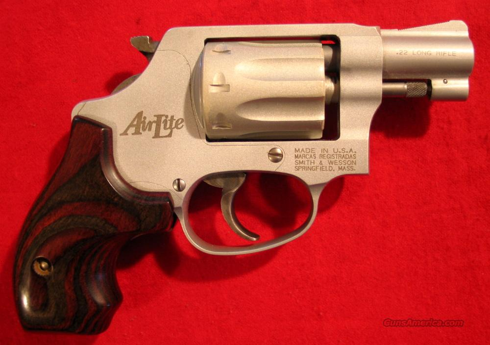 317 AirLite 1st Issue w/box  Guns > Pistols > Smith & Wesson Revolvers > Pocket Pistols