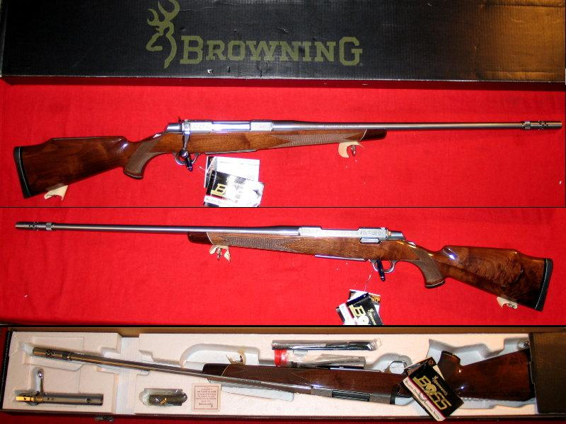 A-Bolt II White Gold Medallion - NIB  Guns > Rifles > Browning Rifles > Bolt Action > Hunting > Stainless