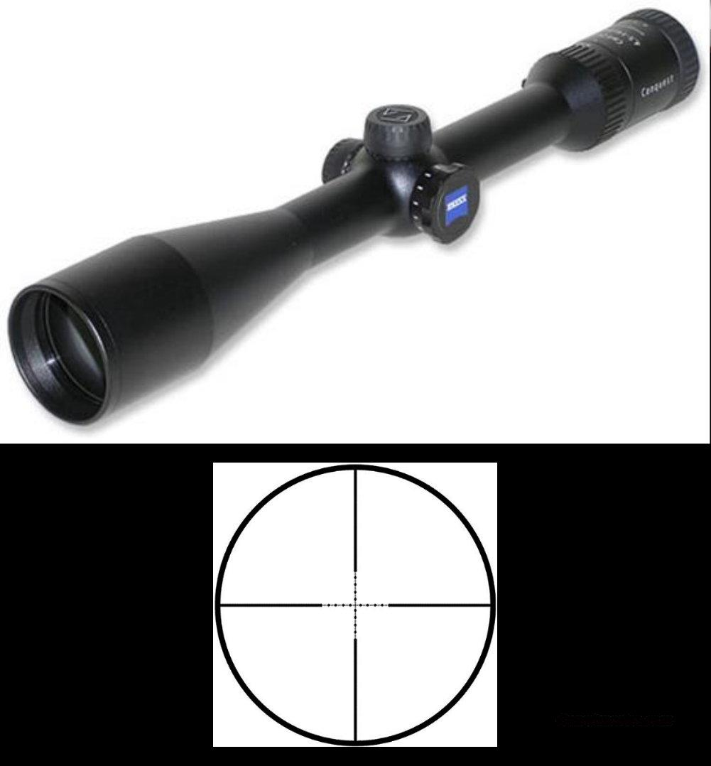 Zeiss Conquest Series 4.5-14x44 MC Black - AO Riflescope w/#43 Mil-Dot Reticle – NIB  Non-Guns > Scopes/Mounts/Rings & Optics > Tactical Scopes > Variable Recticle