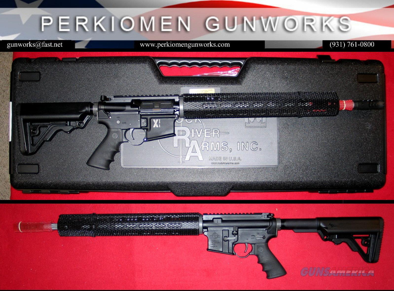 X-1, LAR-15 Rifle, 5.56/.223, 18 inch with Operator CAR 6-pos stock, New in Box, RRA # XAR1751B.  Guns > Rifles > Rock River Arms Rifles