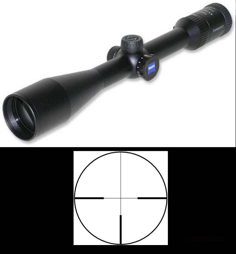 Zeiss Conquest Series 4.5-14x44 Hunting Riflescope w/German #4 Reticle – NIB  Non-Guns > Scopes/Mounts/Rings & Optics > Rifle Scopes > Variable Focal Length