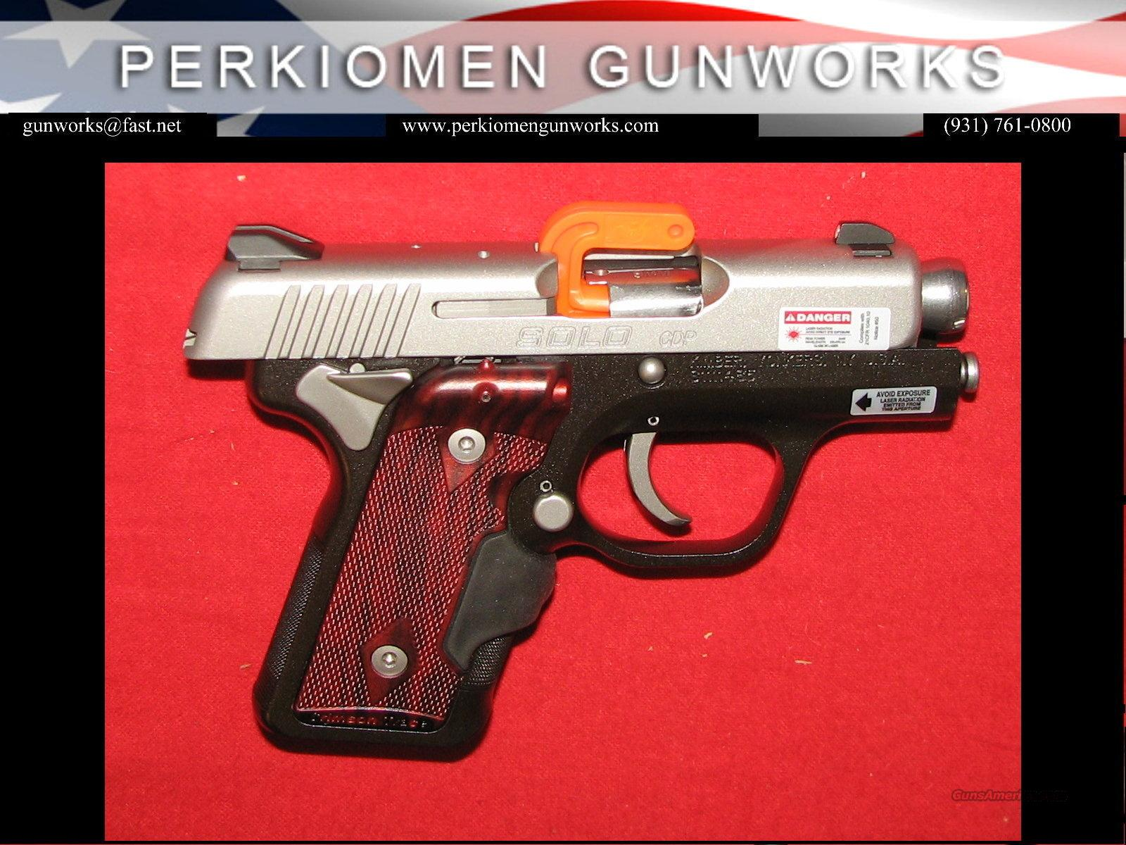 Solo CDP, 9mm - NIB - In Stock!!!!  Guns > Pistols > Kimber of America Pistols
