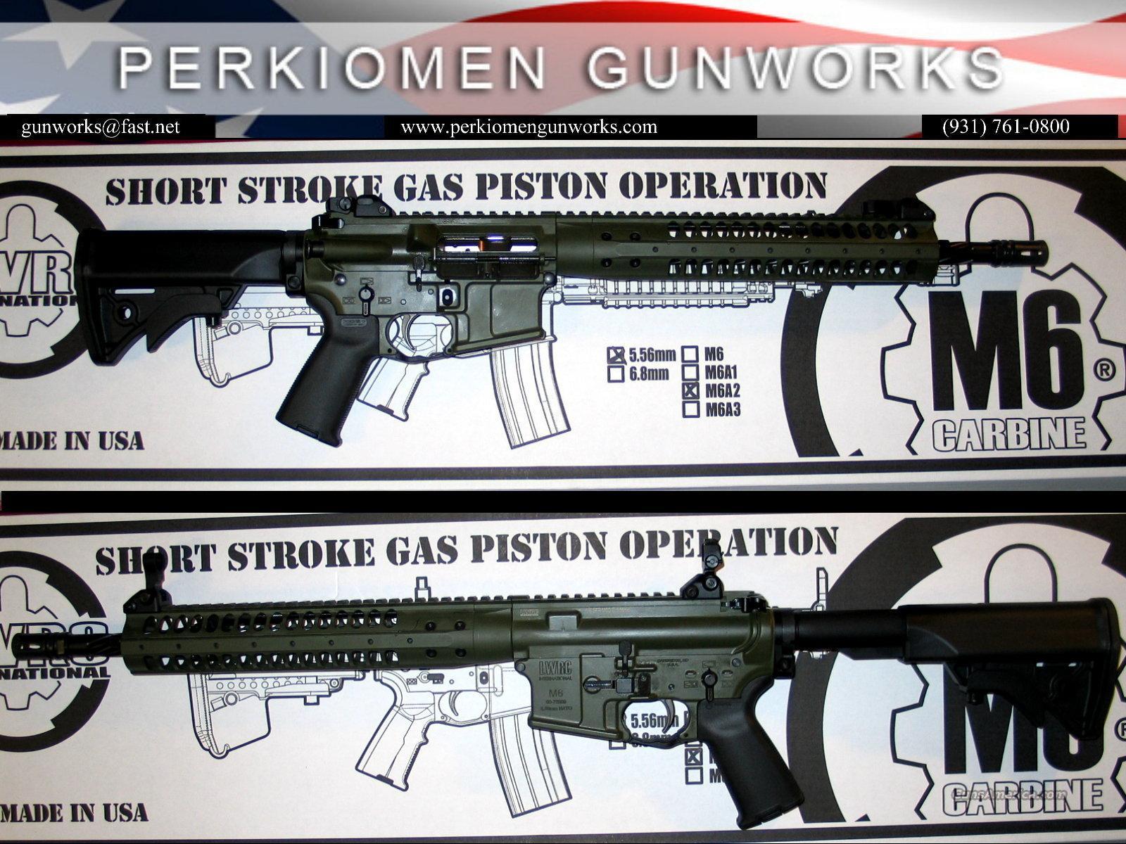 "LWRC M6A2 SPR, 5.56, 14.7"" OD Green Cerakote - NIB  Guns > Rifles > AR-15 Rifles - Small Manufacturers > Complete Rifle"