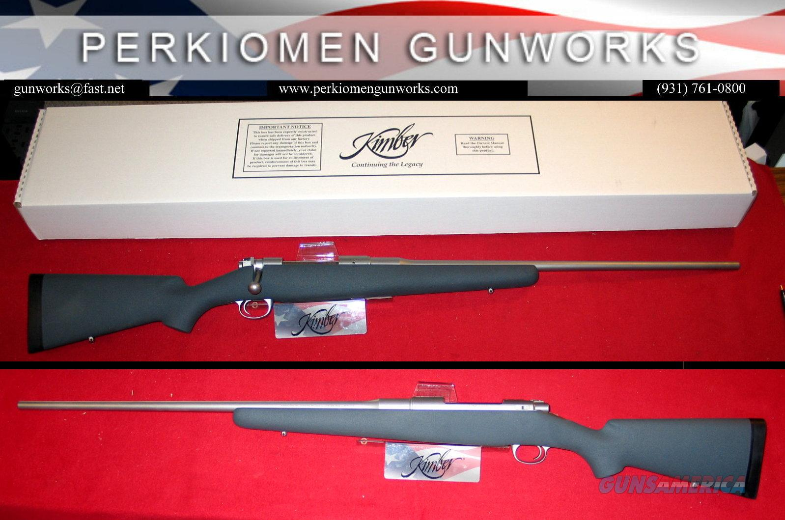 "8400LA Montana .338 Win Mag, 26"", NIB  Guns > Rifles > Kimber of America Rifles"