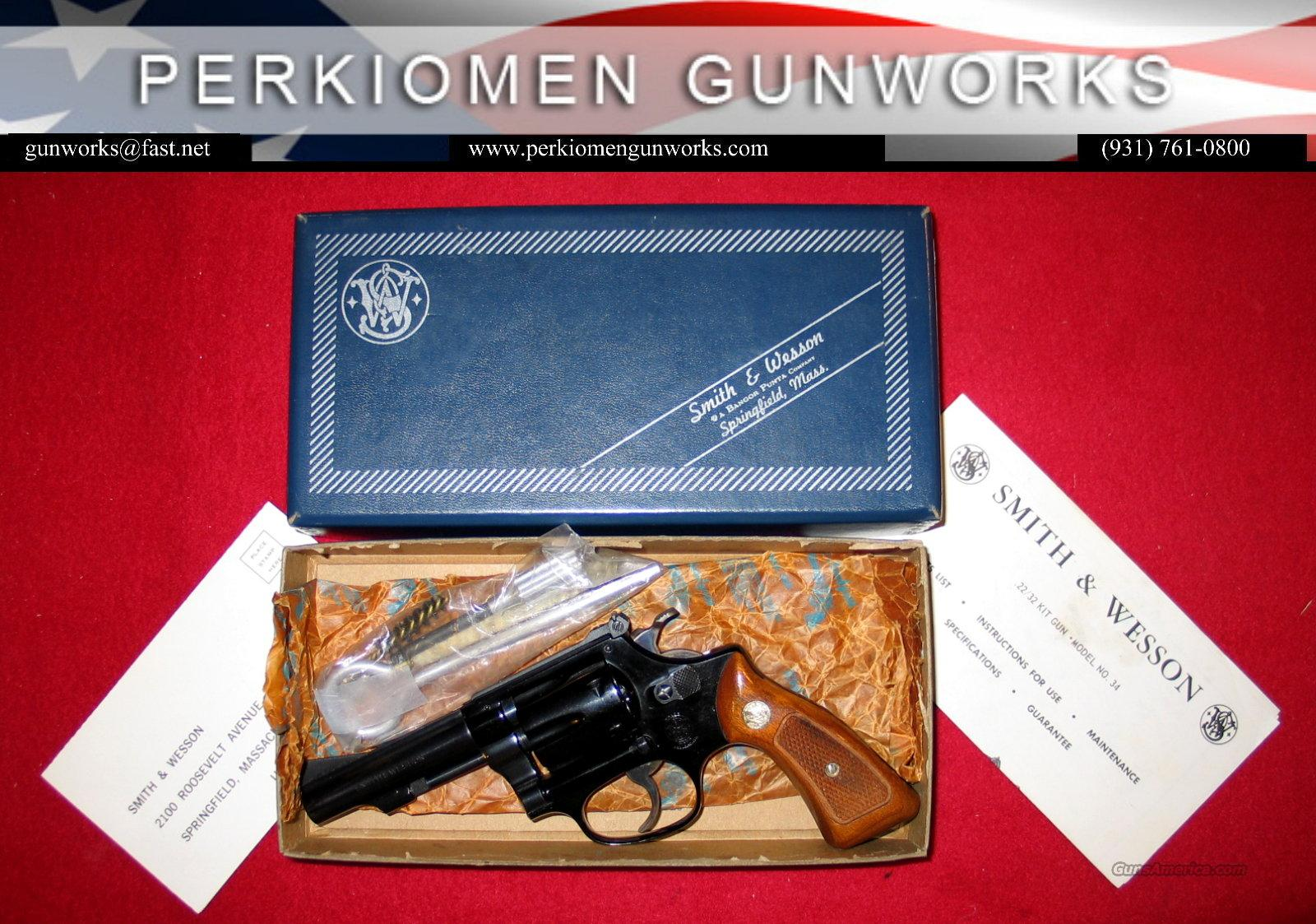 "Model 43, The 1955 .22/.32 Kit Gun Airweight, .22lr, 3.5"", AsNIB  Guns > Pistols > Smith & Wesson Revolvers > Pocket Pistols"