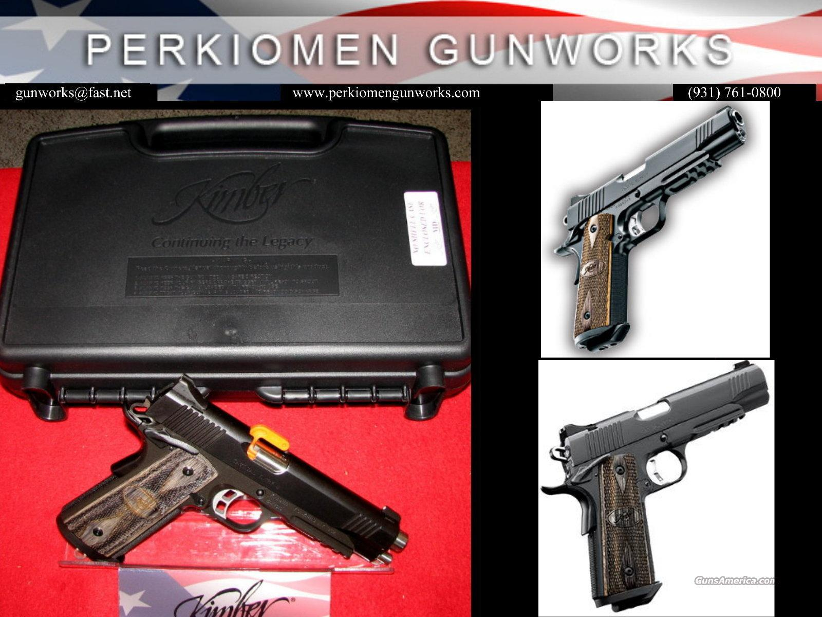 """Tactical Entry II, 45acp, 5"""", New in Box  Guns > Pistols > Kimber of America Pistols"""