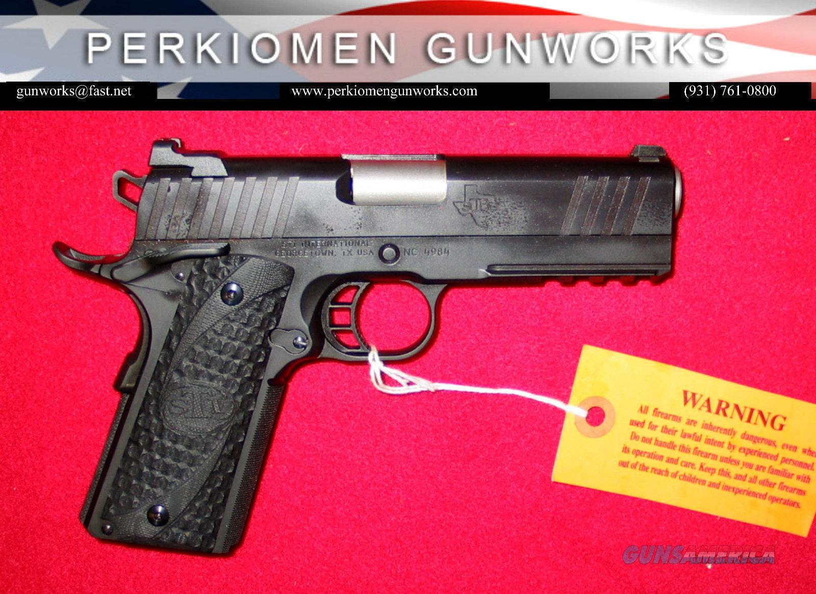 "4.0 Tactical, 45acp, Single Stack, 4.26"" w/Rail - NIB  Guns > Pistols > STI Pistols"