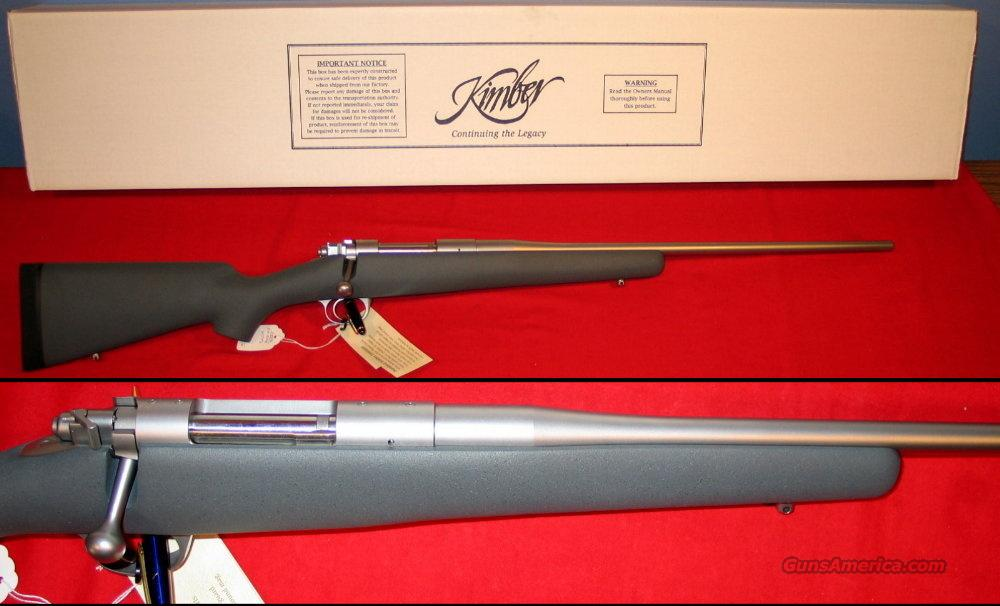 84M Montana .243 Win - NIB  Guns > Rifles > Kimber of America Rifles