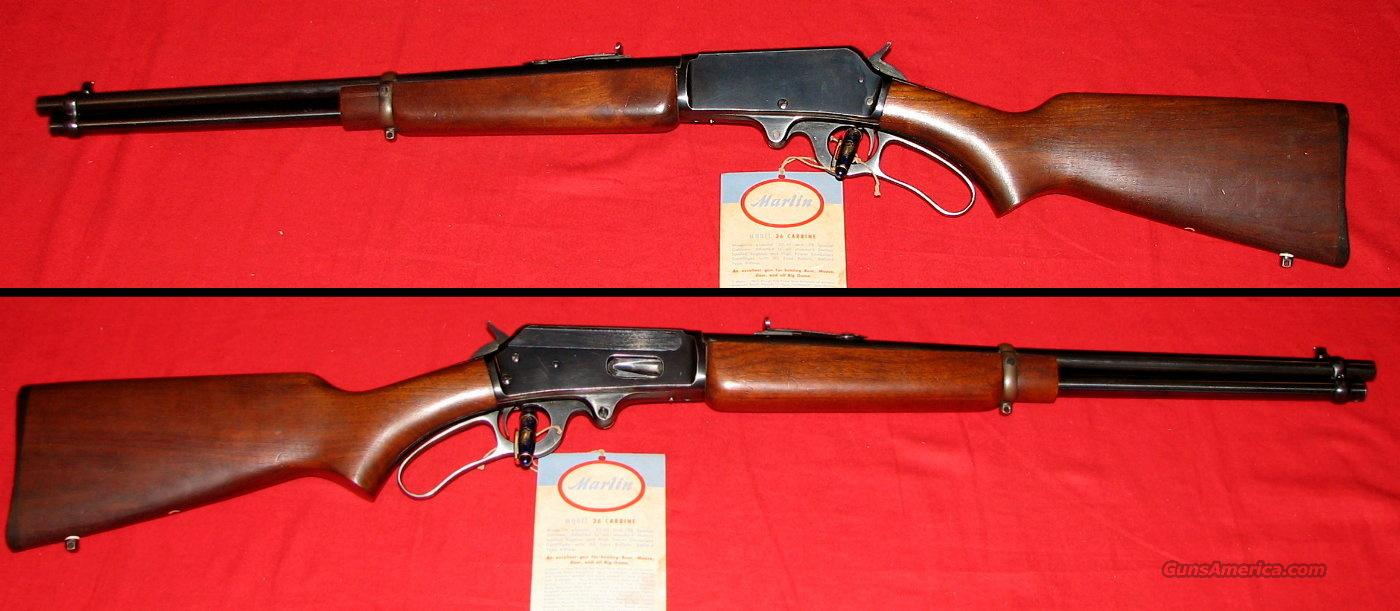36 Safety Carbine 30-30 w/Hang Tag  Guns > Rifles > Marlin Rifles > Modern > Lever Action