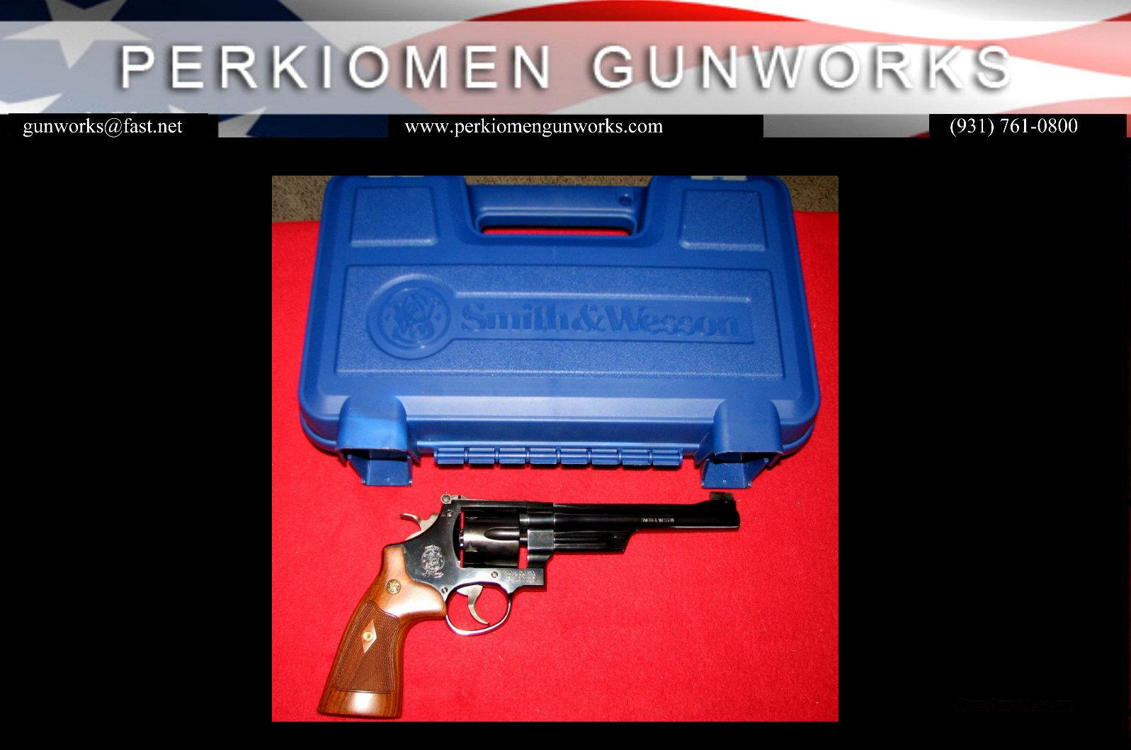 "27-9, .357, 6 1/2"", #150341 Classic Blued - As New  Guns > Pistols > Smith & Wesson Revolvers > Full Frame Revolver"
