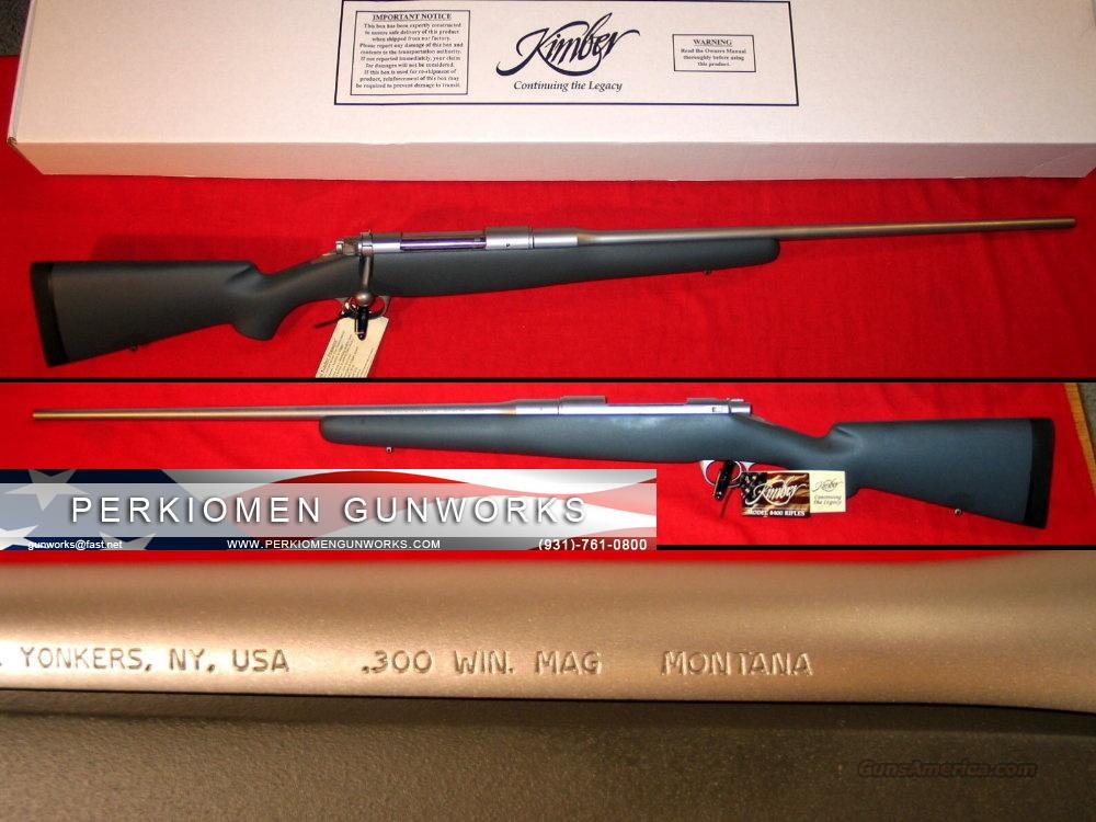 "8400LA Montana, .300 Win Mag 26"" - NIB  Guns > Rifles > Kimber of America Rifles"