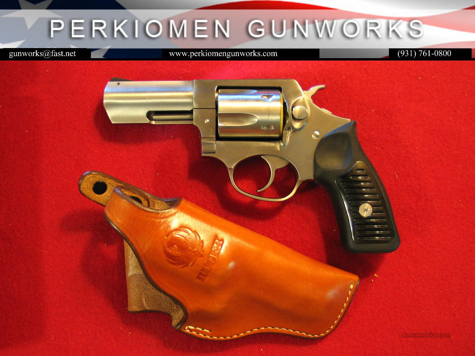 "SP101 3"" .357mag w/Triple K Holster - Like New  Guns > Pistols > Ruger Double Action Revolver > SP101 Type"
