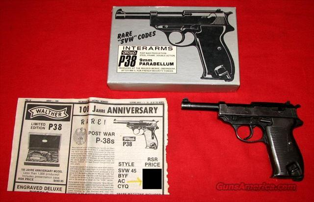 P38 ac43 9MM  Guns > Pistols > Walther Pistols > Post WWII > Large Frame Autos