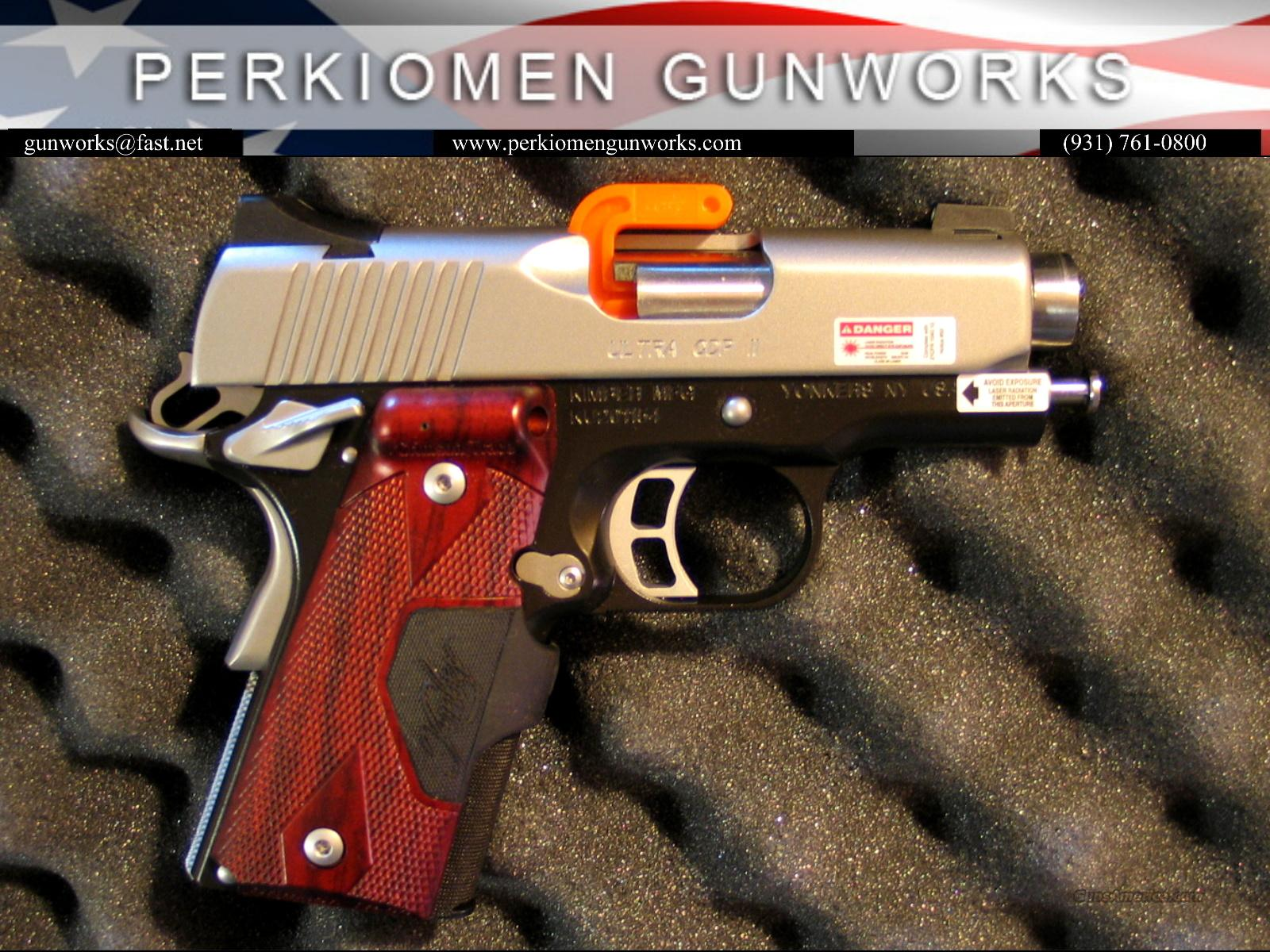 Ultra CDP (LG), 45acp, w/Laser Grips-New in Box  Guns > Pistols > Kimber of America Pistols
